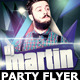 Electro Dj Party Flyer Template - GraphicRiver Item for Sale