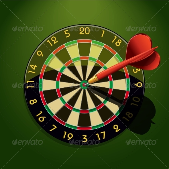 GraphicRiver Dartboard 7188270