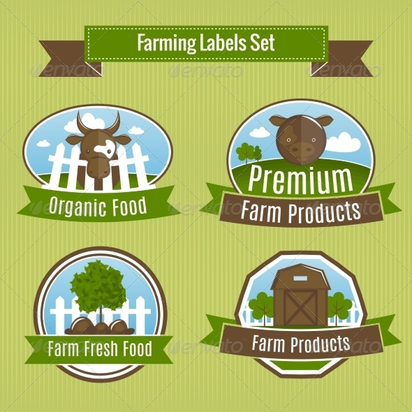 GraphicRiver Agriculture Badges 7188448