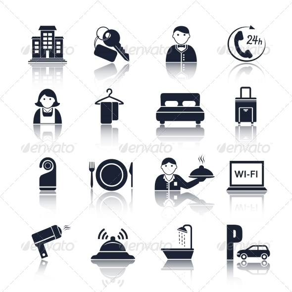 GraphicRiver Hotel Icons 7188799