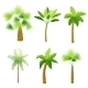 Palm Trees Set - GraphicRiver Item for Sale