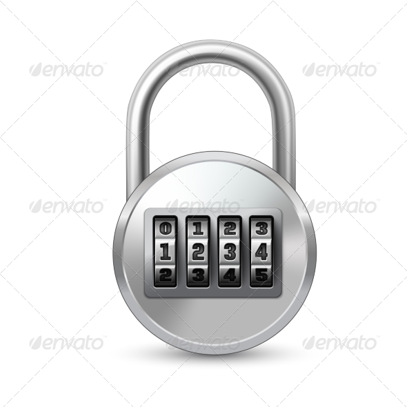 GraphicRiver Combination Lock 7188879