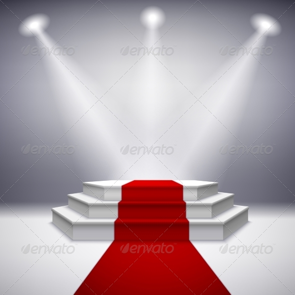 GraphicRiver Illuminated Stage 7188881