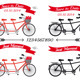 Wedding Tandem Bicycles - GraphicRiver Item for Sale
