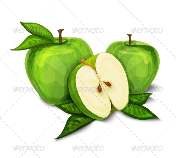 GraphicRiver Apples 7189589