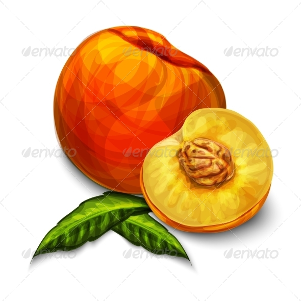 GraphicRiver Peaches 7189592