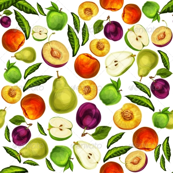 GraphicRiver Fruit Pattern 7189597