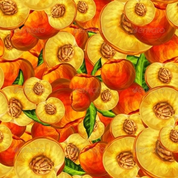 GraphicRiver Peach Pattern 7189609