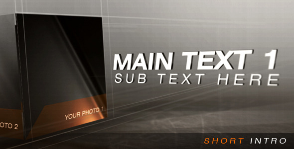 After Effects Project - VideoHive Short Intro 753757