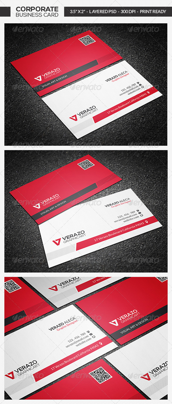 GraphicRiver Modern Business Card 09 7191245