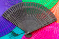 Wooden fan black - PhotoDune Item for Sale