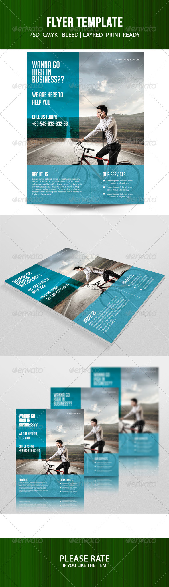 GraphicRiver Business Flyer Template 7191876