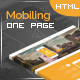 Free Download Mobiling – One Page App Landing Page