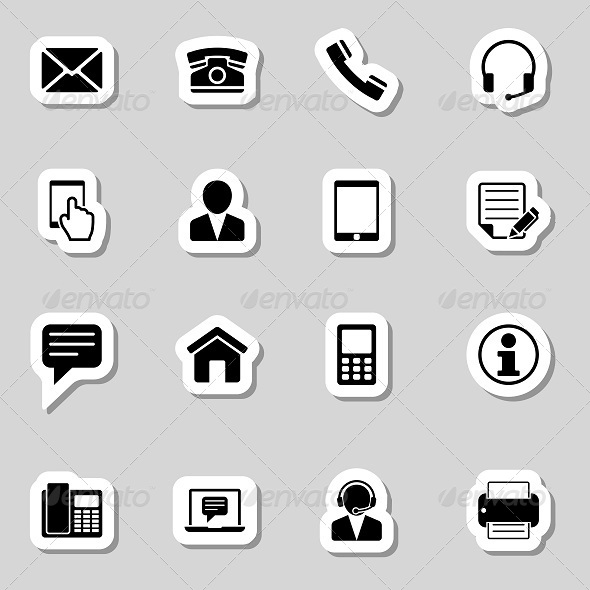 Contact Icon » Tinkytyler.org - Stock Photos & Graphics