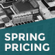 Spring Pricing Table - GraphicRiver Item for Sale
