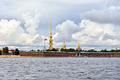 Fortness of St. Peter and Pavel and river Neva in St-Petersburg, Russia - PhotoDune Item for Sale