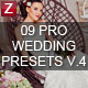 9 Pro Wedding Presets vol.4 - GraphicRiver Item for Sale