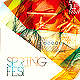 Spring Fest Flyer Template PSD - GraphicRiver Item for Sale
