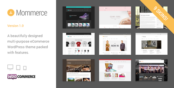 Mommerce - Modern Multi-Purpose WooCommerce Theme - WooCommerce eCommerce