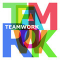 Teamwork - abstract color letters - PhotoDune Item for Sale