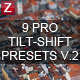 9 Pro Tilt-Shift Presets - GraphicRiver Item for Sale