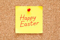 Happy Easter Sticky Note - PhotoDune Item for Sale