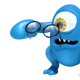 Blue Monster Mascot with Black Glasses - GraphicRiver Item for Sale