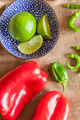 Lime, Capsicum and Chilli - PhotoDune Item for Sale