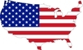 Map of USA with flag - PhotoDune Item for Sale