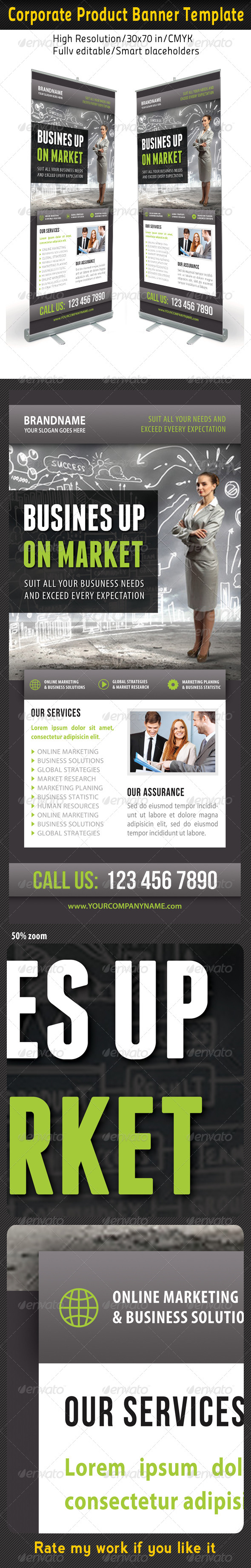 GraphicRiver Corporate Multipurpose Banner Template 53 7200317