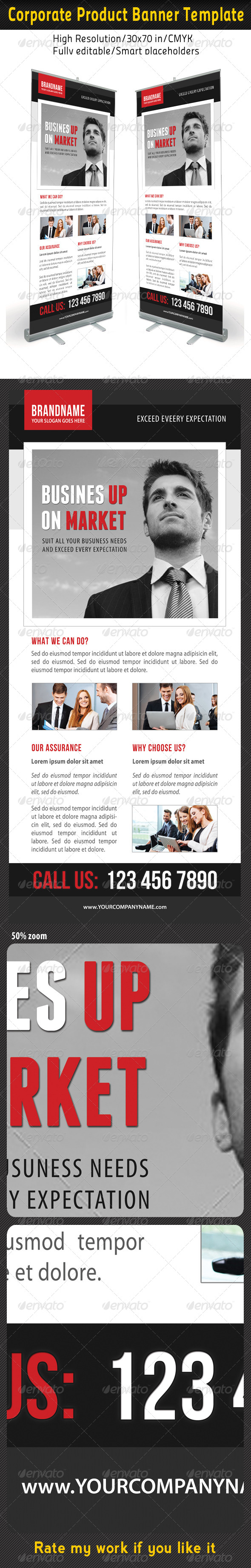 GraphicRiver Corporate Multipurpose Banner Template 54 7200336