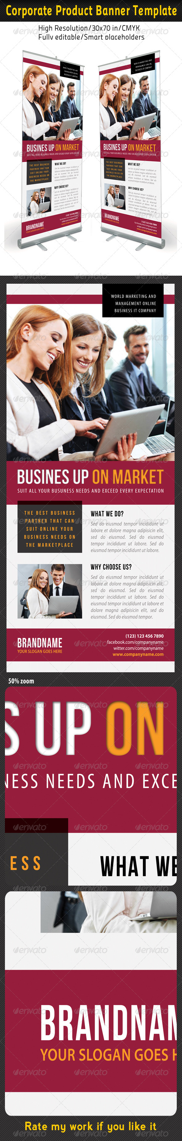 GraphicRiver Corporate Multipurpose Banner Template 55 7200351