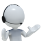 Call Centre Mascot Dude - GraphicRiver Item for Sale