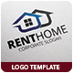 Rent Home Logo Template - GraphicRiver Item for Sale