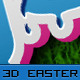 3D Easter Sunday Style - GraphicRiver Item for Sale