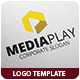 Media Play Logo Template - GraphicRiver Item for Sale