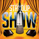 Stand Up Show Flyer Template - GraphicRiver Item for Sale