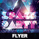 Flyer Space Party Night - GraphicRiver Item for Sale