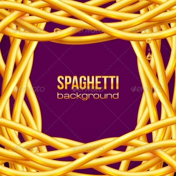 GraphicRiver Vector Oily Spaghetti Frame 7201609