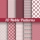 Noble Elegant Vector Seamless Patterns - GraphicRiver Item for Sale