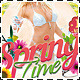 Fresh Spring Time Party Flyer - GraphicRiver Item for Sale