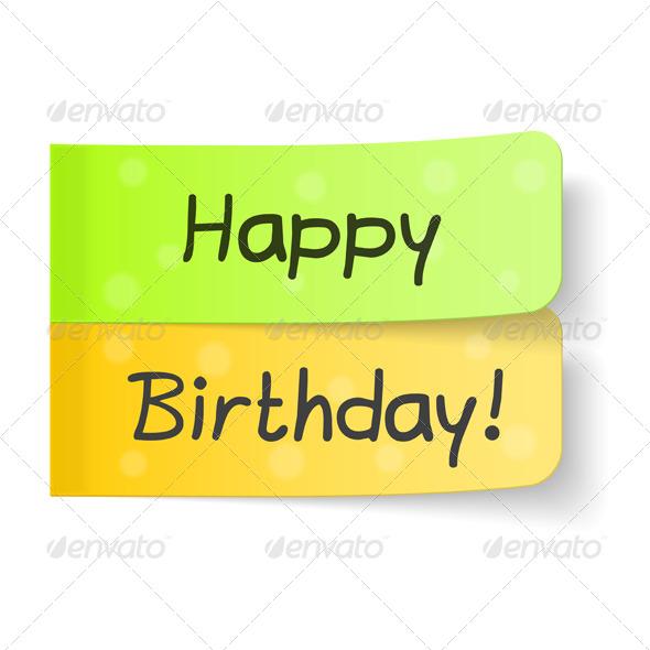 GraphicRiver Happy Birthday 7201675