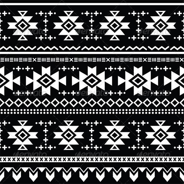 GraphicRiver Tribal Aztec Vector Retro Seamless Pattern 7201677