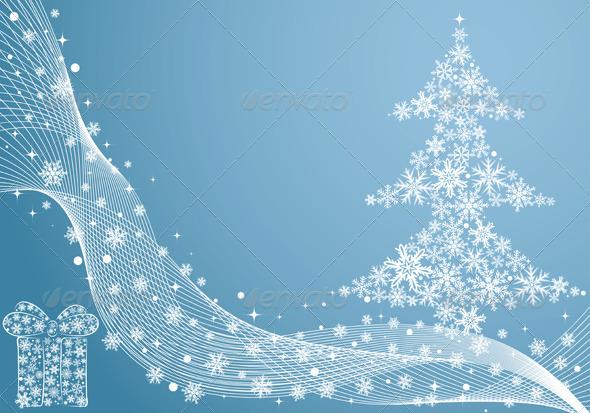 Graphic River Christmas Background Vectors -  Conceptual  Seasons/Holidays  Christmas 755048