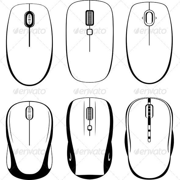 GraphicRiver Computer Mouses 7201800