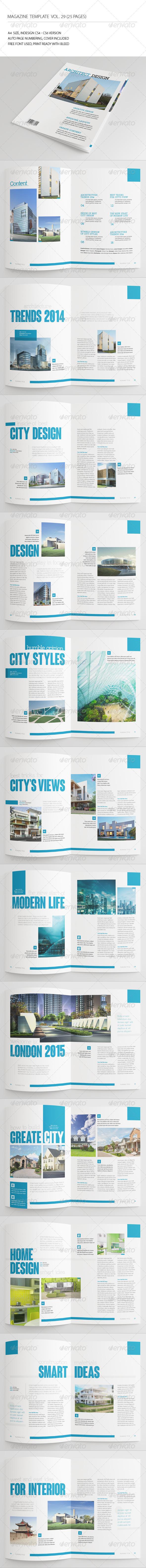 GraphicRiver 25 Pages Architecture Magazine Vol29 7201848