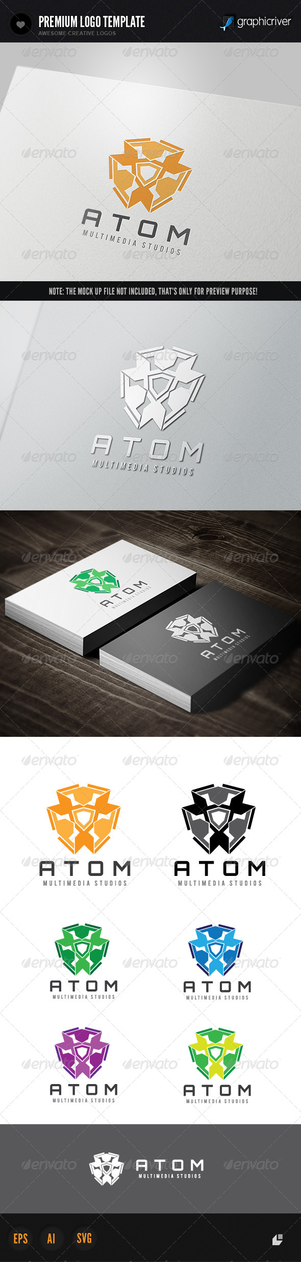GraphicRiver Multimedia Studio Atom 2 7201880
