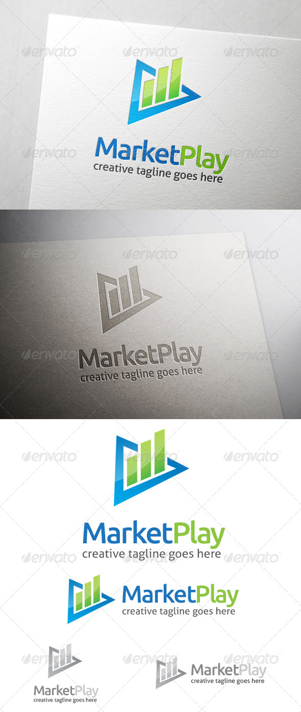 GraphicRiver Market Play Logo 7202056