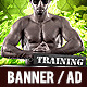 Gym and Workout Promotion Banner 3 - GraphicRiver Item for Sale
