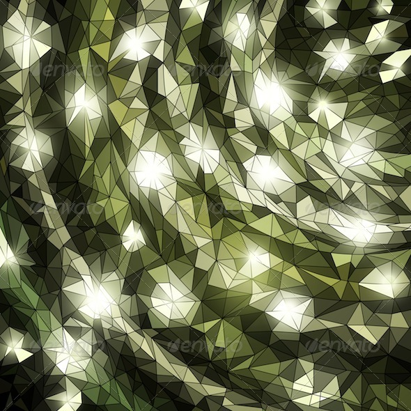 Graphic River Shiny Mosaic Vectors -  Conceptual  Abstract 755120